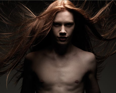 Male Models With Long Hair List