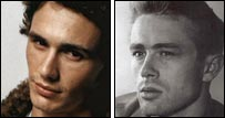 James dean james franco look alike