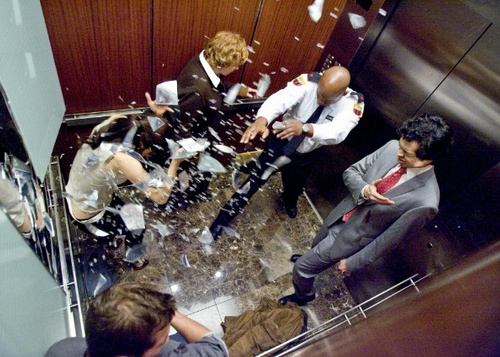 people stuck in elevator. who\u0027s trapped: 5 strangers on an elevator. trapped in: how: one of the people in elevator is really devil! stuck h
