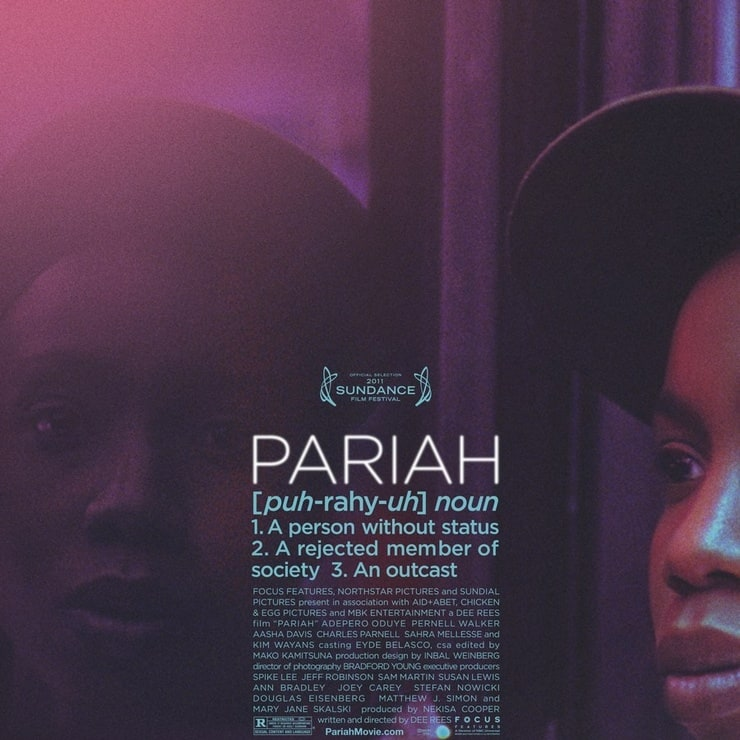 cinematography pariah List of sundance film festival award winners this is a list of films that won awards at the american sundance film bradford young for pariah world cinema.