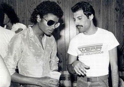 Freddie Mercury Michael Jackson