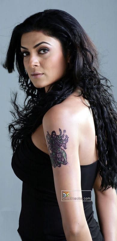 Shruti Haasan Tattoo Wallpapers HD Wallpapers
