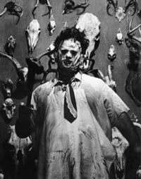 ... Loosely Based On Ed Gein. Another Element In Texas Chainsaw Massacre  Inspired By Gein Is The Rural Farmhouse Adorned With Human Furniture/remains,  Etc.)