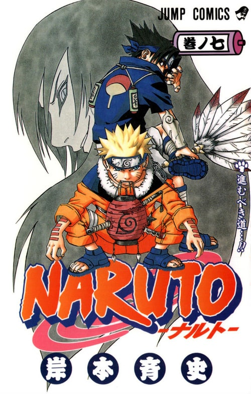 Naruto Manga Cover Art List