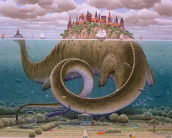 Stunning CG Surrealism: From Origin to Modernity list