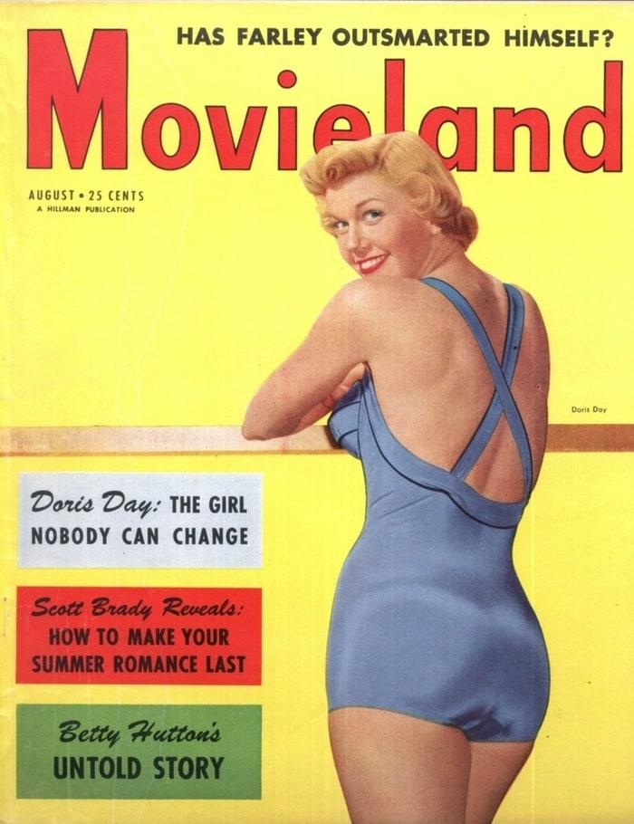 Screenland 1951 Doris Day-Ava Gardner-Tyrone Power-Maureen O'Hara-Rita Hayworth