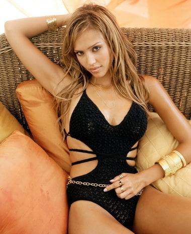 10 Wanita Terseksi Di Dunia Jessica Alba sexy