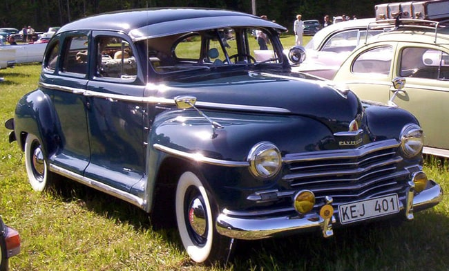 Stunning 40 39 s classic cars list for 1946 plymouth special deluxe 4 door