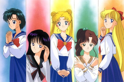 Sailor Moon, Japanese TV Series from 1991  a review of