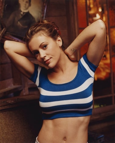 Alyssa Milanos Belly List