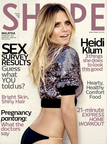Babes Of Yore On The Cover Of Shape Magazine