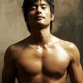guy in hot rod Asian