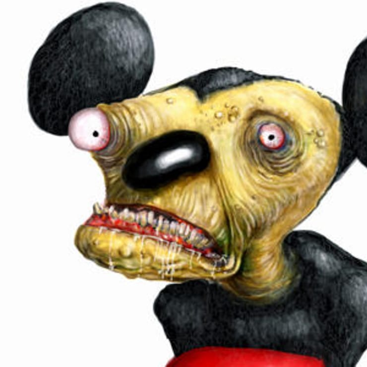 Creepy Versions Of Famous Cartoon Characters List