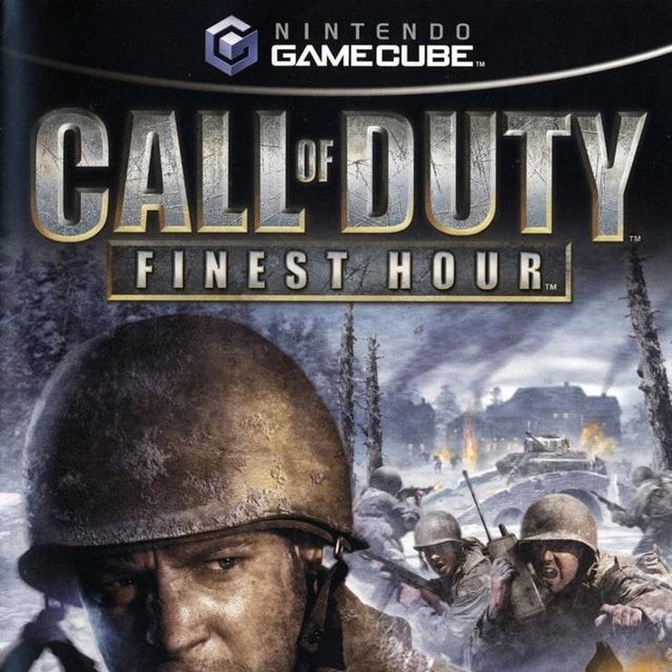 call of duty gamecube