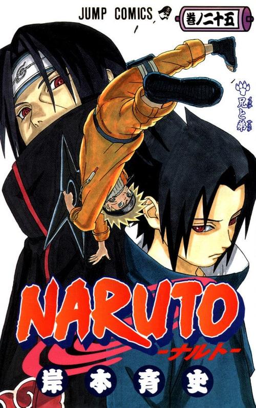 naruto manga cover art list