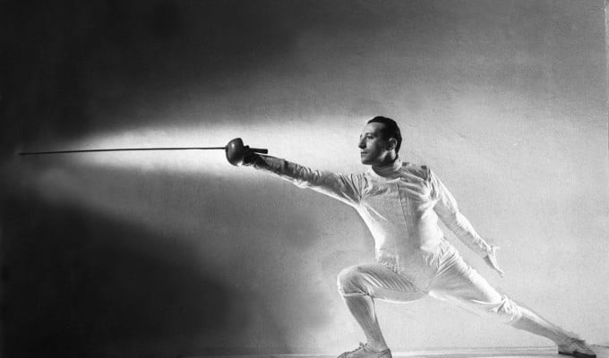 Fencer Edoardo Mangiarotti of Italy (Source: Listal)