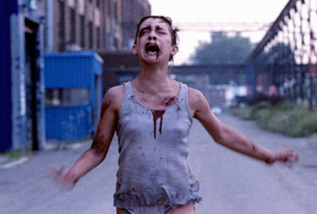 The Opening Sequence Of Martyrs Depicts A Young Girl Named Lucie Pham Escaping From A Grim Industrial Location Where She Had Been Imprisoned And